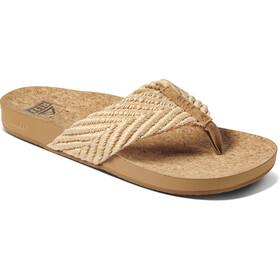 Reef Cushion Strand Sandals Women, beige/marrón